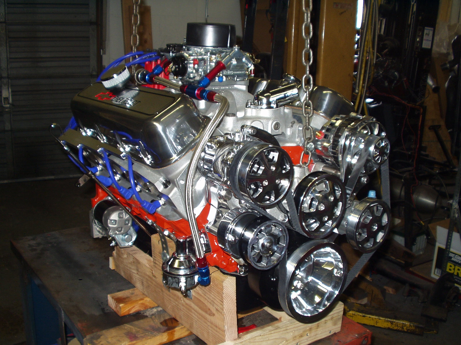 Chevy 540 / 640 Hp Stage Five Monster Chevy Big Block Crate Engine